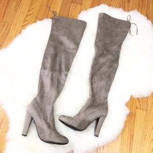 Steve Madden Over The Knee Gorgeous Heeled Boots